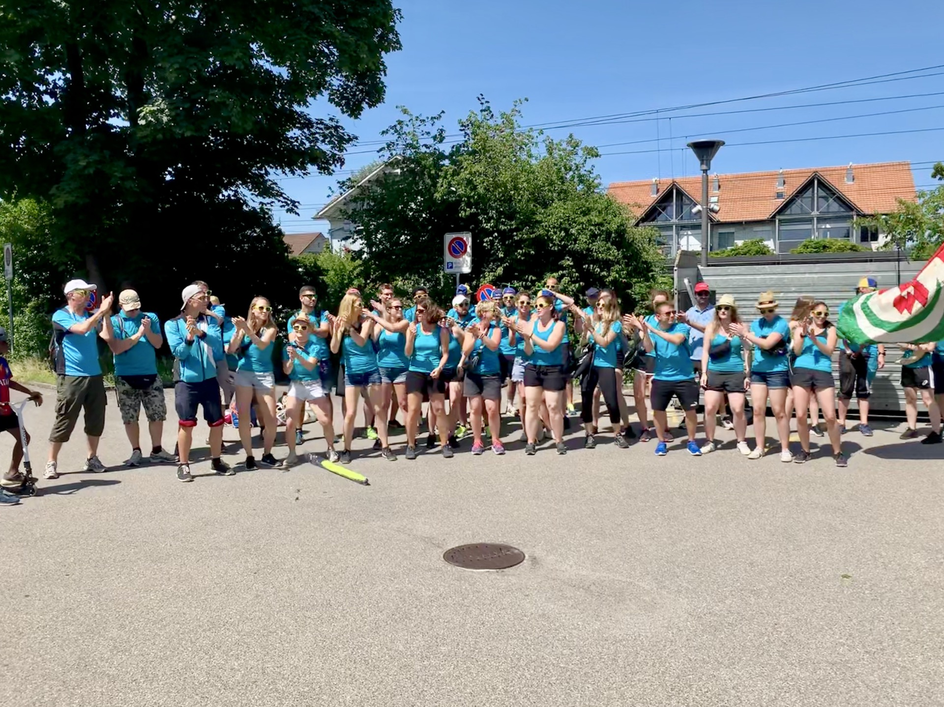 2019 ETF Aarau - Empfang der Rückkehrer